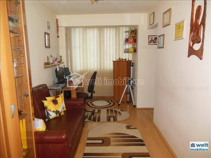 Vanzare apartament 63 mp, Manastur, etaj 4, superfinisat, izolat