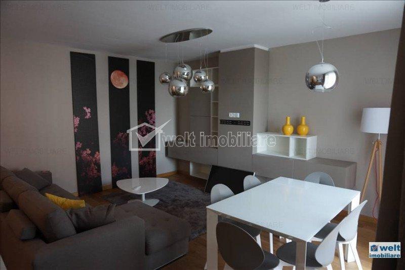 Inchiriere apartament 3 camere intr-un ansamblu nou, zona FSEGA, Gheorgheni
