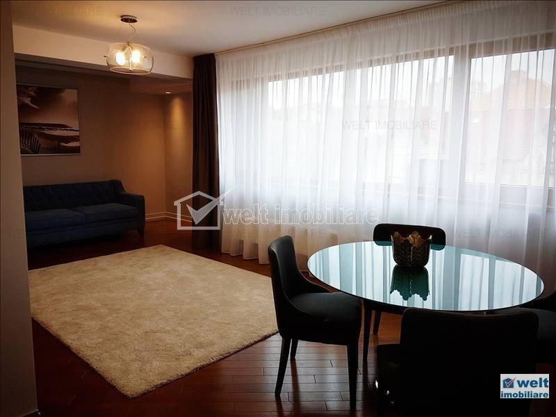 Apartament de lux de inchiriat, 3 camere, 78 mp, Andrei Muresanu