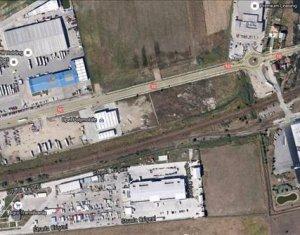 Teren industrial toate utilitatile, front la sosea 110 m, zona Opel Sanicoara