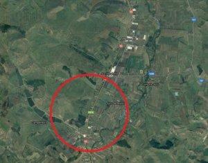 Vanzare teren 2000 mp, 7km inainte de Tetarom III, jud Cluj