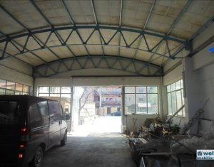 Inchiriere hala 400 mp in cartierul Marasti si 1550 mp curte betonata