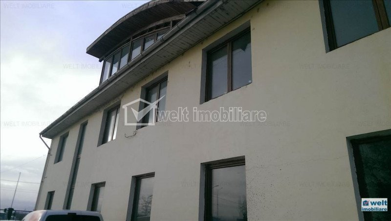 Vanzare imobil 430mp birouri +800 mp hala, 5000 mp teren, zona industriala, Cluj