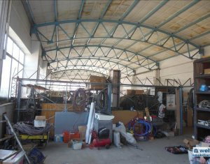 Vanzare hala 400 mp in cartierul Marasti si 1550 mp curte betonata