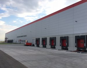 Spatii logistice H12.5m, 6 rampe hidraulice, situat in parc industrial Cluj