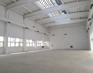 Ipari helyiség kiadó on Cluj-napoca, Zóna Dambul Rotund