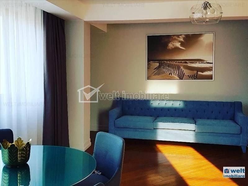 Apartament de lux de inchiriat, 3 camere, 88 mp, Andrei Muresanu