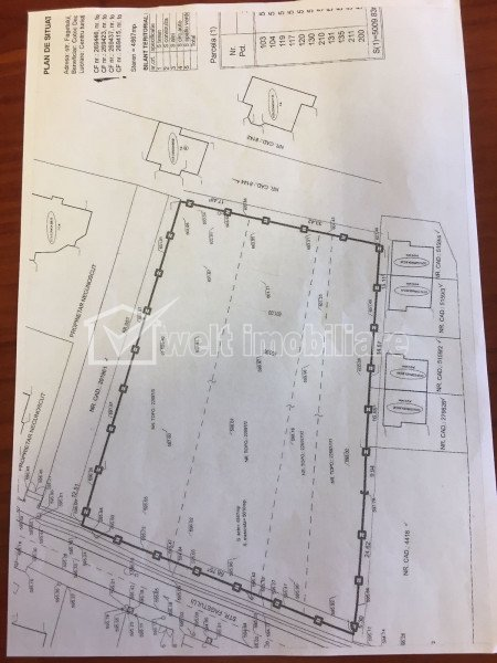 Land for sale in Cluj-napoca, zone Faget