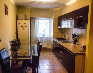 Apartament 3 camere decomandate str. Bucuresti Marasti, 67mp, mobilat+utilat