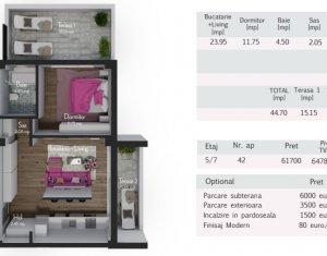 Apartament de vanzare, 2 camere, 45 mp, Zorilor, zona Calea Turzii