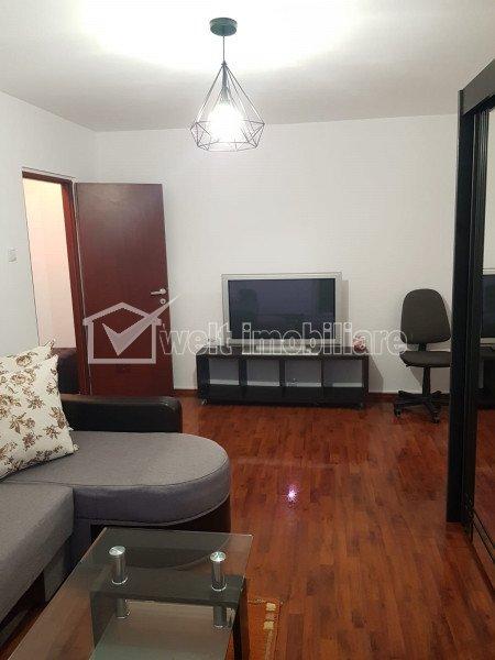 De inchiriat, apartament cu 3 camere, zona BIG, etaj 1, finisat!