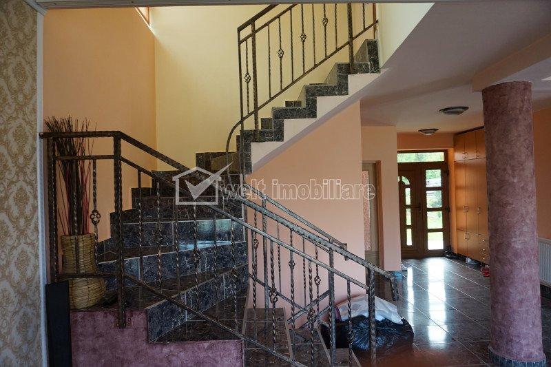 Casa individuala, 5 camere, 220mp utili, 2 niveluri, cartier Buna Ziua