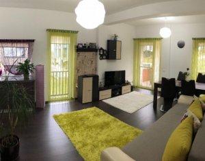 Inchiriem apartament mofilat si utilat lux, 2 camere, 59 mp, in Manastur.