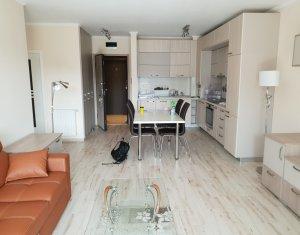 Apartament 2 camere, mobilat si utilat modern, terasa, Platinia Ursus
