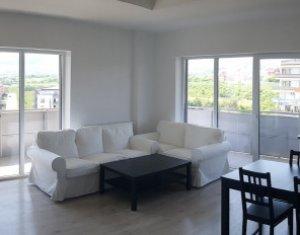 Apartament de inchiriat, 3 camere, 78 mp, terasa 32 mp, Buna Ziua
