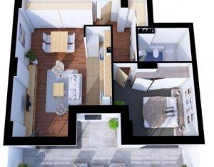 Ansamblu rezidential nou, modern, standard ridicat, zona Iulius Mall - FSEGA,