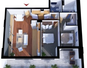 Ansamblu rezidential nou, modern, zona Iulius Mall - FSEGA