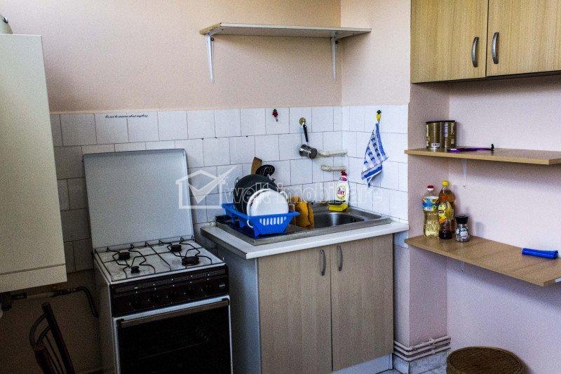 Apartament 1 camera Marasti strada Dambovitei, 42mp foarte spatios, CT+AC