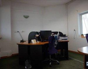 Inchiriere birouri 125 mp finisate, 4 incaperi, zona Piata Cipariu