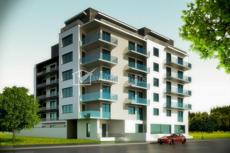 Proiect nou, zona Dambul Rotund, apartamente cu 1, 2, 3 camere, 1100 euro/mp