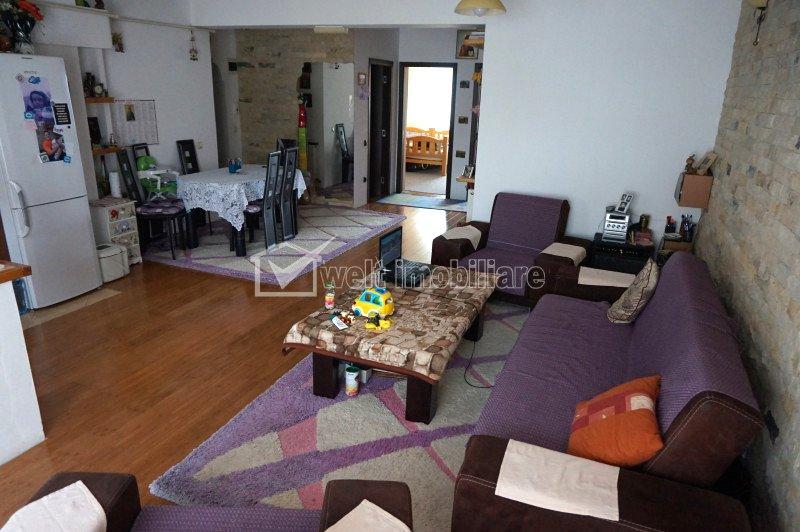 Vanzare apartament, 3 camere, Floresti, zona Florilor, confort sporit