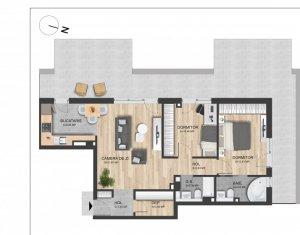 Apartament 3 camere, proiect nou Marasti