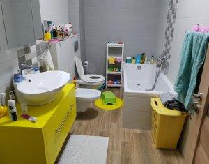 Apartament 3 camere-89mp, terasa 18mp, bloc nou, utilat, mobilat de lux, Marasti