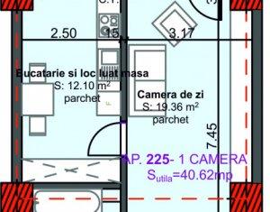 Apartament 2 camere, constructie noua, in Marasti