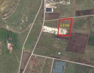 Vanzare teren industrial 44.600mp TETAROM III, Jucu, jud Cluj