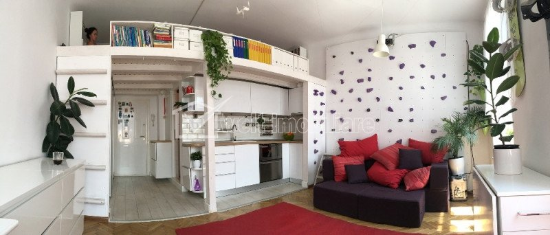 Apartament cochet, tip studio, Ultracentral