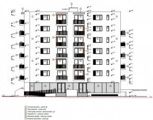 Vindem apartament cu 3 camere, 63 mp, semidecomandat, in zona Lidl Baciu.