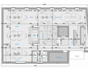 Inchiriere spatiu de birou premium, open space, zona Sora, 240 mp, ultrafinisat