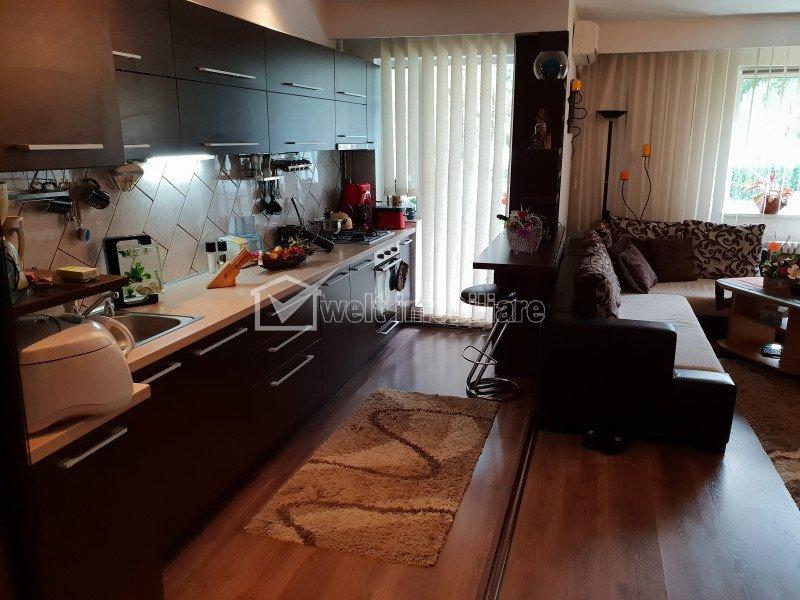 Apartament 4 camere, 88 mp, terasa 18 mp, utilat si mobilat de lux, Manastur