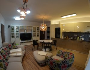 Inchiriem apartament cu 3 camere,semidec. 60 mp, finisat, mobilat, in Buna Ziua.