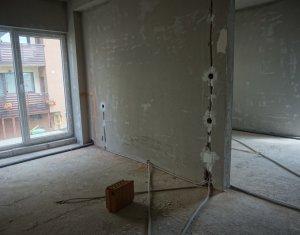 Apartament cu 2 camere, semifinisat, constructie 2018, Floresti