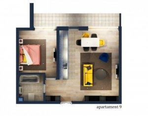 Apartament de vanzare, 2 camere, zona Tauti, Floresti