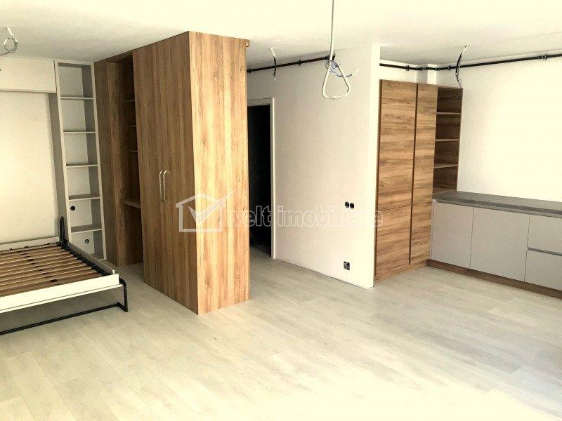 Apartament cu o camera in Buna Ziua, la prima inchiriere, bloc nou
