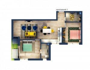 Vanzare apartament 3 camere, situat in Floresti, zona Tautiului cu CF