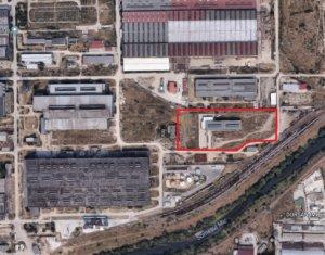 Teren industrial 14.000mp, hala si cladire de birouri, Blvd Muncii - CUG