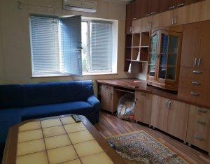 Apartament 1 camera, 35 mp, parter inalt, utilat si mobilat, strada Traian