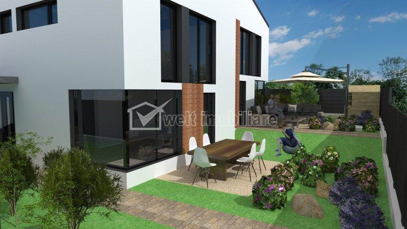 Casa tip duplex 4 camere, semifinisata, 161mp, Manastur zona Campului