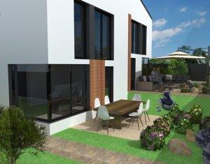 Casa tip duplex noua 4 camere, semifinisata, 161mp, Manastur zona Campului
