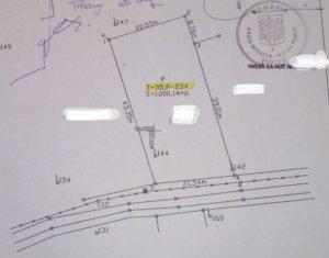 Teren intravilan 1000mp in Mihai Viteazu jud. Cluj