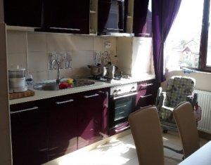 Apartament 3 camere, cartier, Grigorescu, utilat si mobilat, zona Vlahuta
