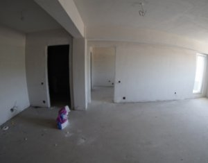 Vindem apartament cu 3 camere, 76 mp, et. inter., cu CF, in Baciu si cu credit.