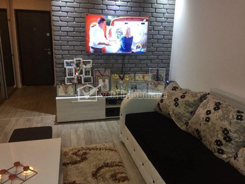 Apartament 2 camere, balcon, finisat modern, mobilat de lux, Baciu, zona Petrom