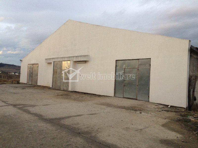 Hala 700mp productie sau depozitare Jucu, toate utilitatile, acces TIR