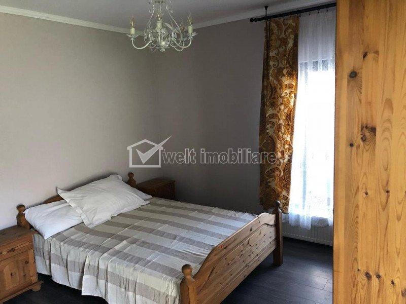 Apartament de inchiriat cu 2 camere decomandate, bloc tip vila, gradina, parcare