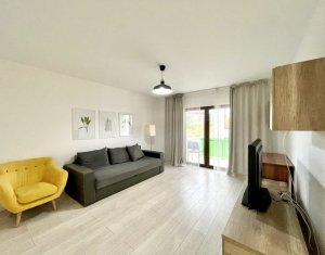 Apartament de inchiriat in Buna Ziua, 2 camere, bloc nou tip vila, parcare