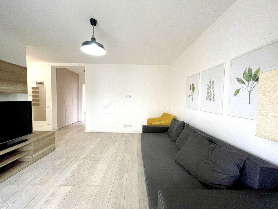 Apartament de inchiriat in Buna Ziua, 2 camere, bloc tip vila, parcare